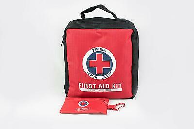 First Aid Kit & Emergency Medical Safety Supplies Bag 145 Piece