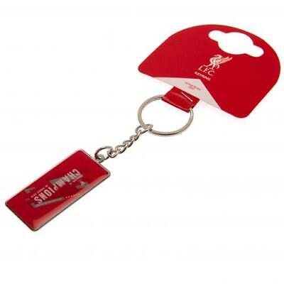 Liverpool F.C. Champions Of Europe Keyring OFFICIAL LICENSED MERCHANDISE GIFT