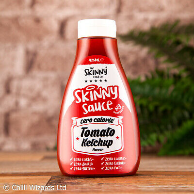 Skinny Sauce - Zero Calorie - Buy 3 Get 1 Free - All Flavours. Chilli Wizards