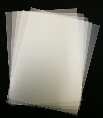 "15X   Plastic Template  280x215mm (11""x8-3/4"")   0.4mm Thick for Sewing/Quilting"