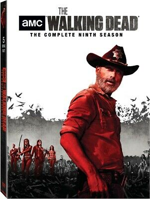 The Walking Dead Season 9 DVD Andrew Lincoln Norman Reedus PRE ORDER for 8/20/19