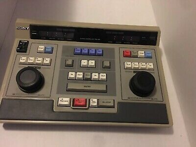 Sony editing control unit rm-450 AS IS. Clean Video Editor