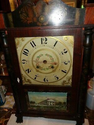 Antique-E.Hotchkiss Jr.-Clock Case-Ca.1820s-To Restore-#T578