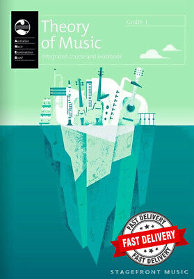 Ameb Theory Of Music Grade 1 Integrated Course & Workbook *Brand New*