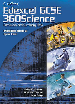 GCSE Science for Edexcel: Science Summary and Homework Book by HarperCollins...