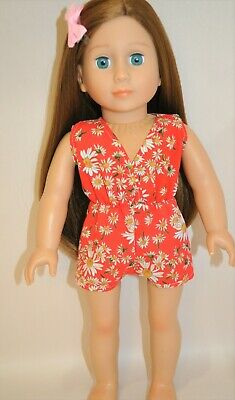 American Girl Doll Our Generation Journey 18 Inch Dolls Clothes Jumpsuit Romper