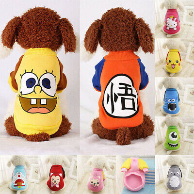 Small Pet Dog Warm Sweater Coat Clothes Puppy Clothing For Chihuahua Apparel New