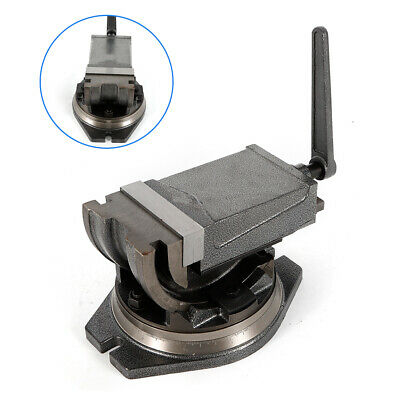 5 Inch 360 Swivel Base & Angle Tilting 2 Way Clamp Vise Jaw Hardness 48 HRC UPS
