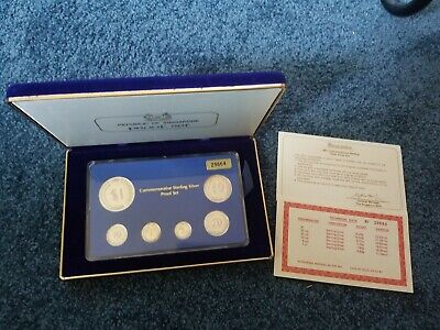 Singapore 1981 Silver Proof Set in Original Case with COA