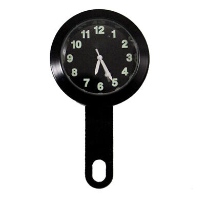 Handlebar Clock Assembly for Harley Glow in the Dark Face