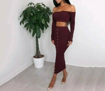 Dress Set Fashion Blouse And Skirt Sexy Elastic For Women Summer Autumn Clothing