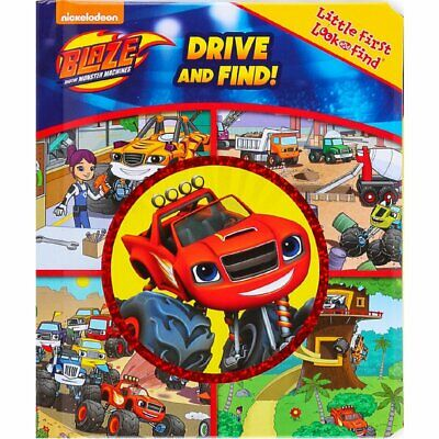 Blaze and the Monster Machines First Look and Find Educational Toys Books