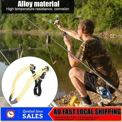 Powerful Slingshot Bow Catapult Alloy Outdoor Hunting Aim Competition Catapult