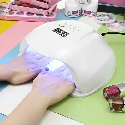 New 54W LED UV Nail Lamp Light Gel Polish Dryer Manicure Art Curing AU Plug OZ L