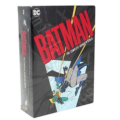 The Batman - The Complete Animated Series 12 Discs Box set New & Sealed