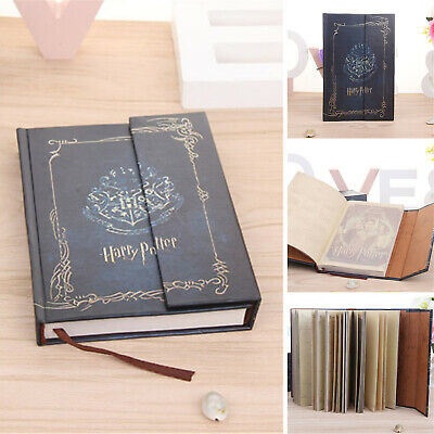 Harry Potter Magic Book Blue Diary Vintage Agenda Notebook Notepad Journal