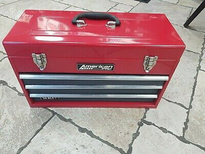 Sealey AP9243BB Top chest Tool Box 3 Drawer Portable with Ball Bearing Runners