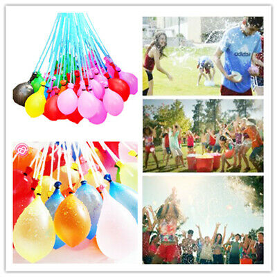 111-1110 PCS Fast Fill Magic Water Balloons Kids Summer Party Fun Toys Party ^^