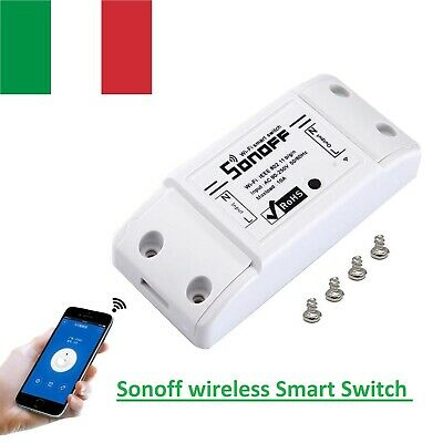 SONOFF Basic Smart Wifi Timer per commutatore wireless Telecomando per voce/APP