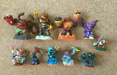 Skylanders Spyro Giants Figures x 10 ALL ELEMENTS PS3 PS4 Xbox Nintendo #G13