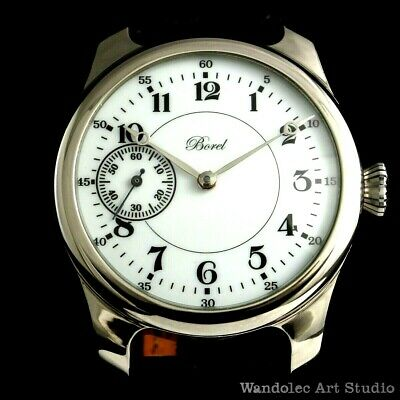 Vintage Mens Wrist Watch BOREL Mechanical Noble Design Men's Wristwatch Swiss
