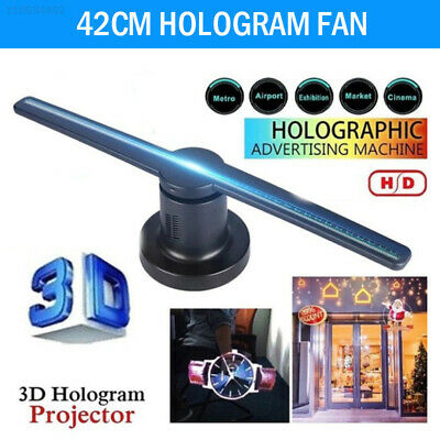 3D Holographic Projector Display WiFi Fan Hologram LED Advertising Displayer New