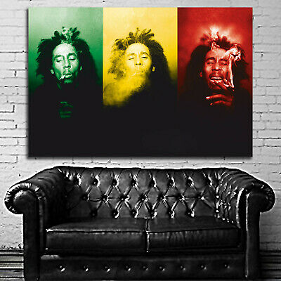 #06 Bob Marley Reggae Jamaica Music Muscian 40x60 inch More Sizes Large Poster