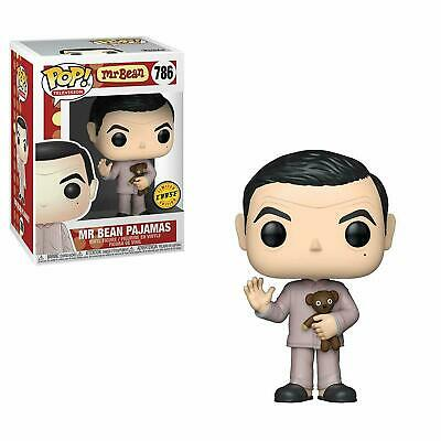 "Chase Mr Bean In Pajamas With Teddy 3.75"" Pop Tv Vinyl Figure Funko 786"