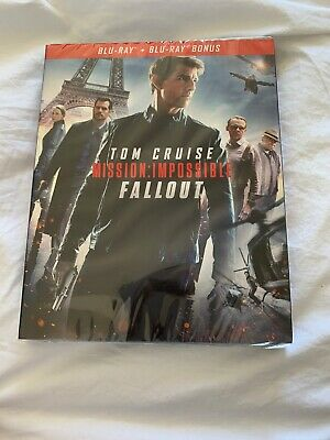 Mission Impossible Fallout BLURAY Et Bonus Tom Cruise. NEUF SOUS BLISTER