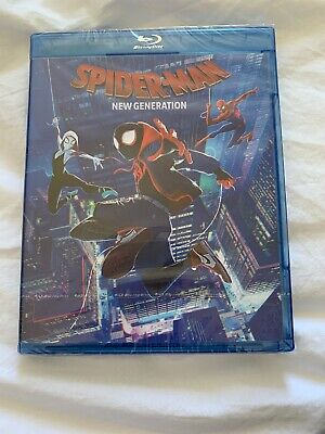 Spider-Man  New Generation Blu-ray. Neuf Sous Blister