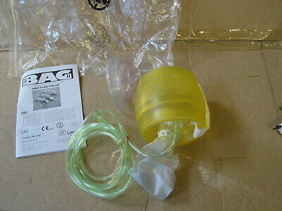 Laerdal Adult Silicone self inflating Resuscitator 845011 adult  oxygen mask