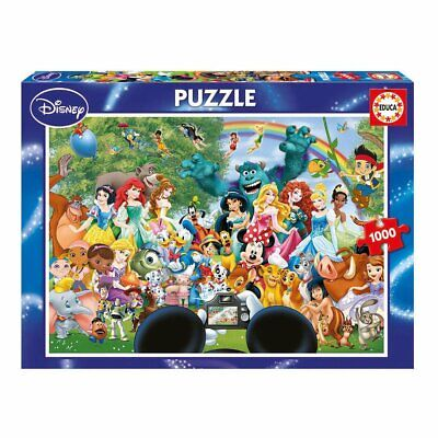The Marvelous World Of Disney ~ 1000 Piece Educa Jigsaw Puzzle