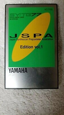 YAMAHA TG77 / SY77 - 100 000+ Patches Collection  Syx T0