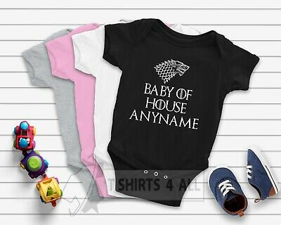 Game of thrones, Baby of house, baby shower gift pregnancy reveal CUSTOMIZATION
