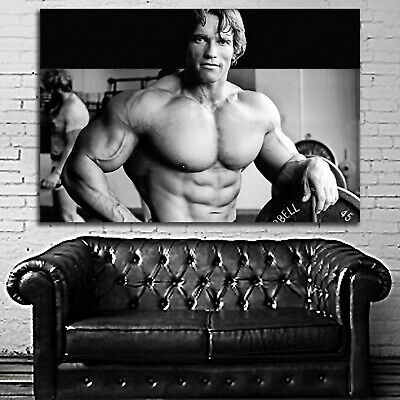 #03 Arnold Schwarzenegger Poster Fitness Muscle Gym 40x60 inch More Size Large