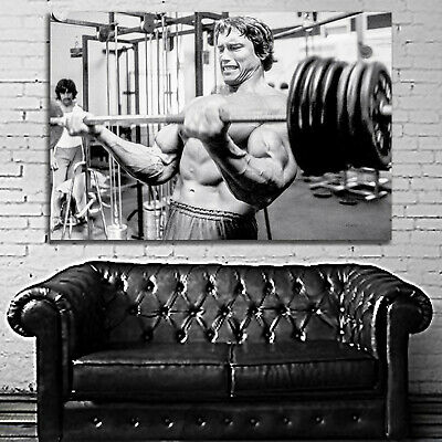 #32 Arnold Schwarzenegger Poster Fitness Muscle Gym 40x60 inch More Size Large