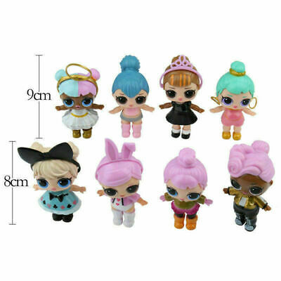 NEW 8 PCS/SET LOL Lil Outrageous 7 Layer Surprise Series Dolls Kids Toy Gifts