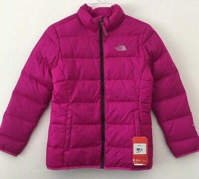 0b14a1cb0 NEW THE NORTH Face Andes Jacket Girls Small (7/8) Starry Purple Down ...
