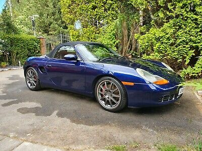 REDUCED Porsche Boxster S 3.2 gt3 wheels, red calipers, black leather,