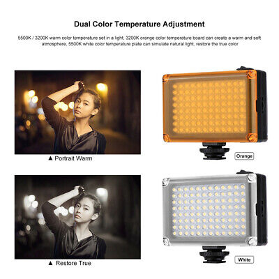 Portable Video LED Lamp Photography Fill Light For DSLR Camera Camcorder CANADA