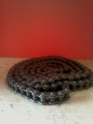 60-1 #60 Single Strand Roller Chain Used 10Ft
