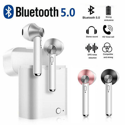 Bluetooth V5.0 Wireless Headphones Earbuds Headset For Apple iPhone Airpods IOS