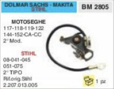 BOSCH •NOS Chainsaw Contact Points Sachs Dolmar 118 122 CA Partner R 12 K Solo
