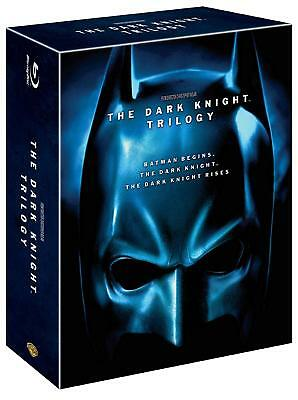 The Dark Knight Trilogy Limited 5-Disc Giftset Blu-ray, 2012, New Factory Sealed