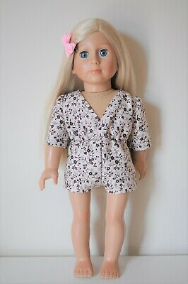 American Girl Doll Our Generation Journey 18 Dolls Clothes Play suit Romper