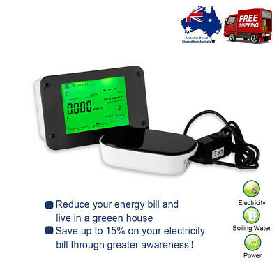 Wireless Energy Monitor for Smart Electricity Power Meters Watts