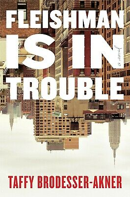 Fleishman Is in Trouble A Novel Hardcover by Taffy Brodesser Akner BEST SELLER