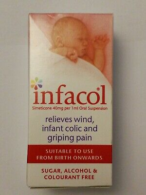 Infacol Baby Colic Relief Drops 50ml - Suitable To Use From Birth.