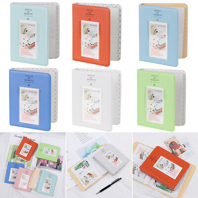 64 Pockets Mini Album Case Storage For Polaroid Photo Film Instax Film Size