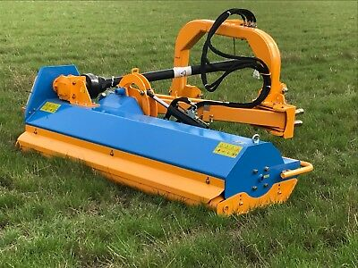 Tractor mounted verge Flail mower 2.2m wide offset mower free delivery VAT inc